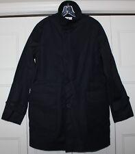 NEW Sperry Tech Officer Jacket Mens size Medium M NAVY BLUE SMH15-012 Dress Coat