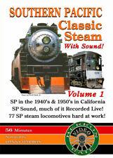 Southern Pacific Classic Stream Volume 1 Dvd Herron Rail Video Sp Daylight