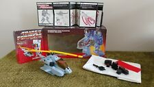 Vintage 1984 Transformers G1 Whirl Helicopter and Robot COMPLETE WITH BOX