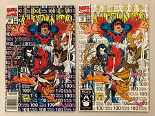 Marvel Comics The New Mutants #100 Two Copy Lot
