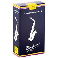 Vandoren Alto Saxophone Reeds Strength 1.5 Box of 10