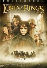The Lord of the Rings: The Fellowship of the Ring (Dvd, 2002, Full Frame) New