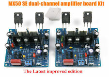 Improved MX50 SE Power amplifier DIY Kits board Dual 2.0 channel 100W+100W HIFI
