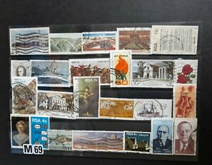 Selection of stamps from South Africa. Good used as scan