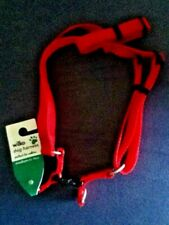 BNWT**WILKO**SUPER DURABLE & COMFY TO USE BRIGHT RED DOG HARNESS FOR MEDIUM DOGS