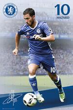 EDEN HAZARD - CHELSEA POSTER - 24x36 FOOTBALL SOCCER FC 34167