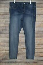 Maurices Skinny Stretch Jeans Medium Wash Women's Plus Size 20 HW3117