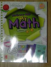My Math 4th Grade 4 Student Edition Vol 2 by Carter (2013, Paperback) Workbook