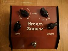 More details for lovetone brown source (overdrive pedal)
