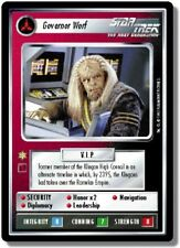Star Trek CCG AU Alternate Universe Governor Worf