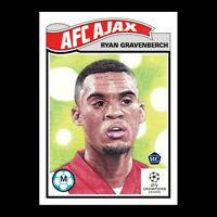2020 UCL Topps Now Living Set card #266 UEFA Champions League RYAN GRAVENBERCH