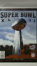 Super Bowl XLII Game Program Book New York Giants New England PatriotsMemrobilia