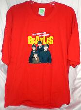 BEATLES 1964 AMERICAN TOUR T SHIRT XL NEW LENNON MCCARTNEY STARR HARRISON