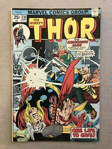 MARVEL COMICS 1976 #246 THE MIGHTY THOR