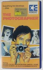 THE PHOTOGRAPHER - Rare Embassy Pre Cert Horror VHS Video. Out of Print.