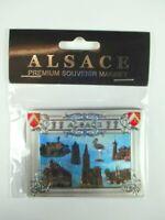 Elsass Alsace Magnet Premium Souvenir Frankreich Laser Optik,NEU