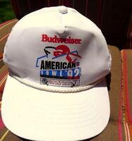 1992 Budweiser American Bowl Tokyo Dome Dallas Cowboys Houston Oilers Hat VTG
