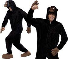 "Gorilla Fancy Dress Costume Monkey Suit Ape Outfit Suit 38-42"" by Smiffys New"