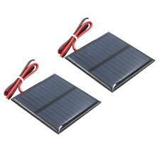2x Mini Solar Panel Small Cell Module Battery Charger for Garden Lights