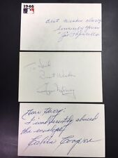 George Maloney American League Umpire Signed Index Card 1969 Debut JSA Precertif