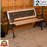 Outdoor 3 Seater Garden steel wooden Set Furniture Table Patio furniture Bench