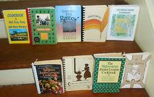 LOT OF 9 BEST MIDWESTERN WESTERN ETHNIC KS CO NE UT SD WY COOK BOOKS JR LEAGUE+