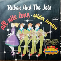 """RUBEN and THE JETS  7"""" ALL NITE LONG '73 SPIDER WOMAN SIGLA TV L'ALTRA DOMENICA"""
