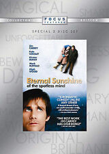 Eternal Sunshine of the Spotless Mind (Dvd, 2005, 2 Disc, Widescreen) Brand New!