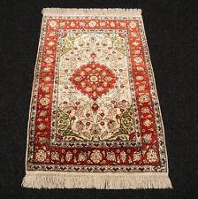 Seidenteppich Hereke 75 x 50 cm Türkischer Orient Teppich Seide Turkish Silk Rug
