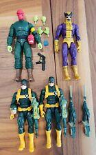Marvel Legends Red Skull Hydra Agent Bob Batroc lot captain spiderman deadpool