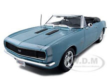 1967 CHEVROLET CAMARO SS 396 CONVERTIBLE TURQUOISE 1/18 DIECAST CAR MAISTO 31684
