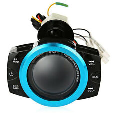 12V Motorcycle Audio Radio Stereo Speakers TF/USB Sound System Waterproof Loud