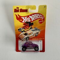 Hotwheels The Hot Ones VW Volkswagen Baja Bug Beetle Purple Diecast Car Rare