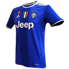 seconda Maglia gara Juventus 2016-2017 uomo away adidas AI6226 azzurra + 2 patch