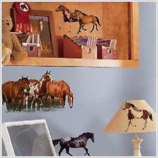 RoomMates RMK1017SCS Wild Horses Wall Decals