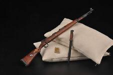 1:6 WWII German Military Weapon Model Karabiner 98k Rifle Gun F 12'' Figure