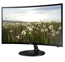 "SAMSUNG V32F390 32"" LED Curvo Monitor TV WIFI DVB-T2 FREEVIEW HD 1080P HDMI USB"