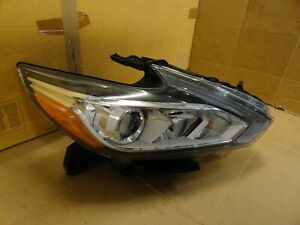 2016 2017 2018 Nissan Altima oem Passenger Right Complete Halogen Headlight