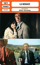 FICHE CINEMA : LA MENACE - Montand,Laure,Dubois,Corneau 1977 The Threat