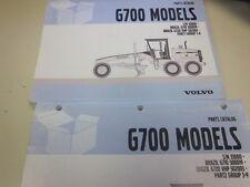 Volvo G700 Motor Grader Parts Catalog S/N 33000-