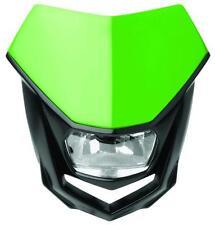 Polisport Lampenmaske Halo mit Halogen-Scheinwerfer, grün