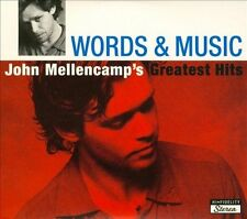 Words And Music: John Mellencamp's Greatest Hits [Digipak] by John Mellencamp (CD, Oct-2004, 2 Discs, Island (Label))