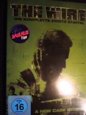 "5 DVD - BOX ""THE WIRE"" - STAFFEL 2+neu+ovp++"