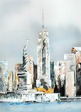 Victor Spahn - Manhattan (lithograph, hand-signed & numbered, edition of 300)