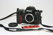 """Nikon F100 SLR Gehäuse #2166543 """" Sehr guter Zustand """" incl. Anleitung"""