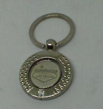 Las Vegas key ring with white stones