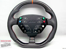 KTM X-Bow Flat Bottom Napa Thicker SMALL Diameter Custom CARBON Steering WHEEL