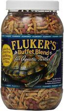 Buffet Blend Aquatic Turtle Food Reptile Worms Pellets Shrimp Vitamins Mineral