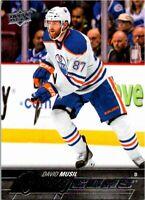 2015-16 Upper Deck Young Guns Rookie Hockey Card #485 David Musil