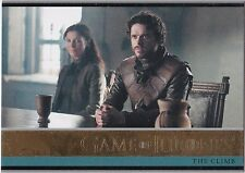 GAME OF THRONES SEASON 3 GOLD PARALLEL INSERT #17 THE CLIMB 047/150